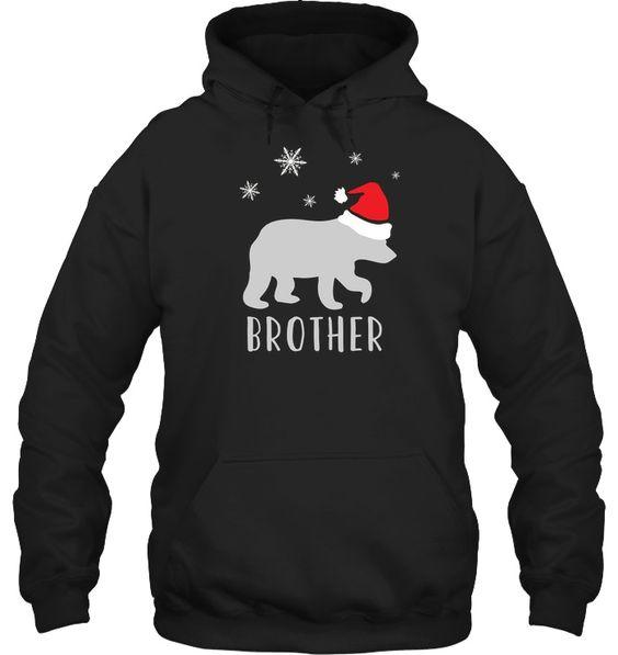Brother Bear Christmas Hoodie D7AZ