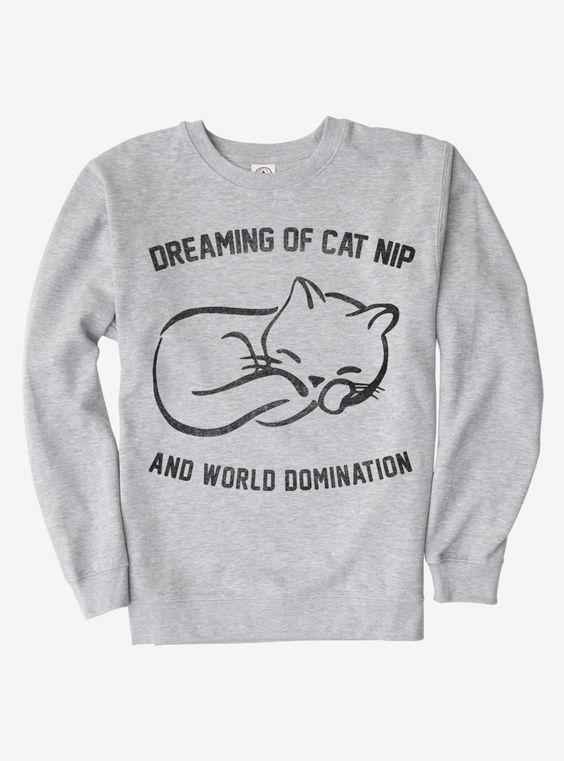 Cat Nip Sweatshirt D4ER