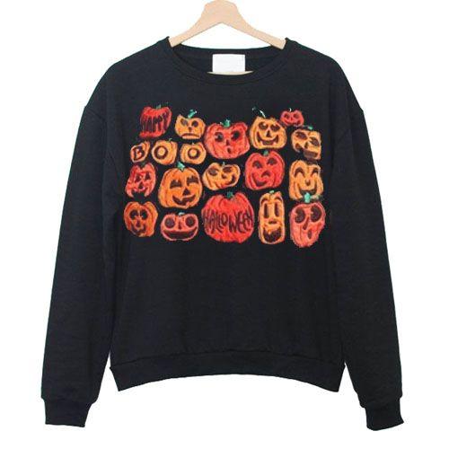 Pumpkin Sweatshirt D3EM