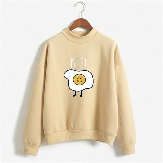 Snacks Female BFF Sweatshirt AZ2D
