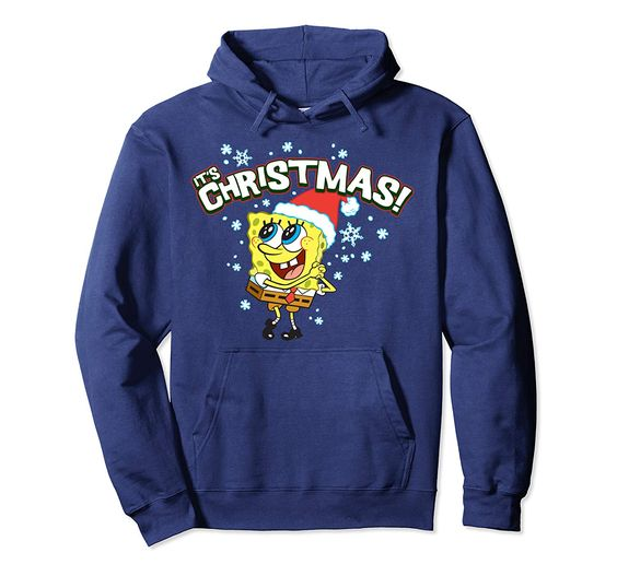Spongebob Christmas Hoodie D7EM