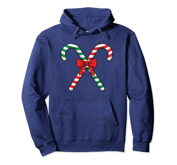 Two Candy Christmas Hoodie D7AZ