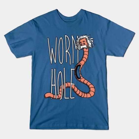 WORM HOLE T-Shirt IK30D