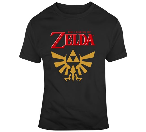 Zelda Logo T Shirt SR23D