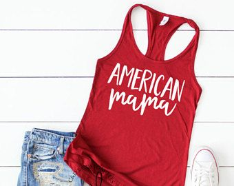 4th of july USA Tanktop ND27J0