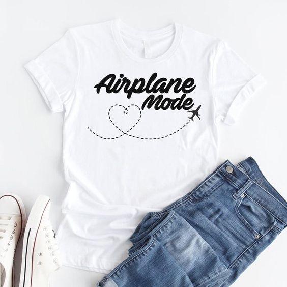 Airplane Mode T-shirt ND27J0