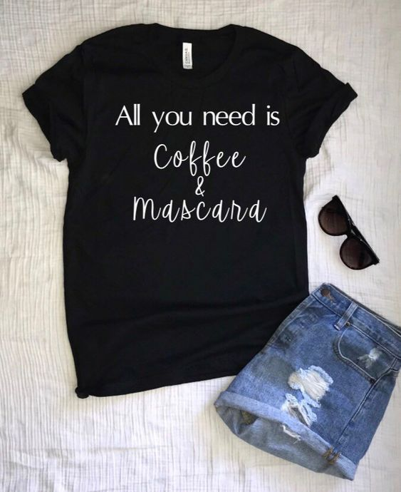 All you need is coffee T-Shirt DL30J0