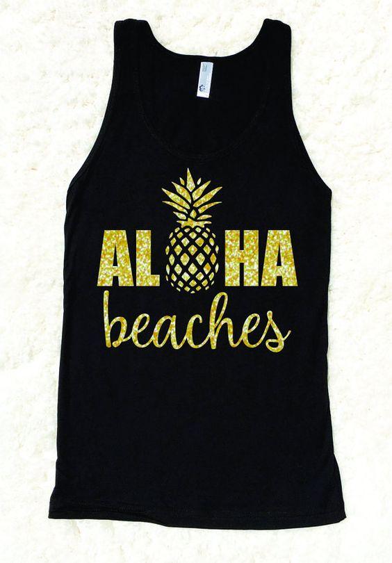Aloha Beaches Tanktop EL13J0