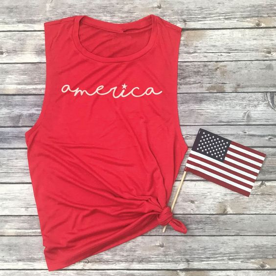 America Muscle Tanktop ND27J0
