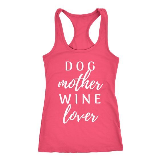 Dog Mother Wine Tanktop ND21J0