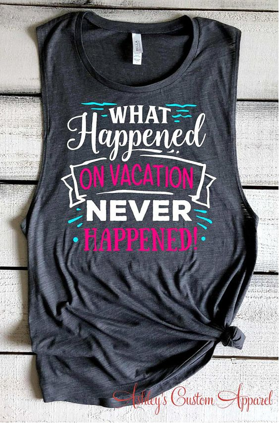 Funny Vacation July Tanktop ND27J0