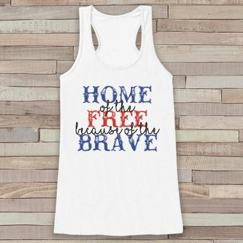 Home Free Brave Tanktop ND27J0