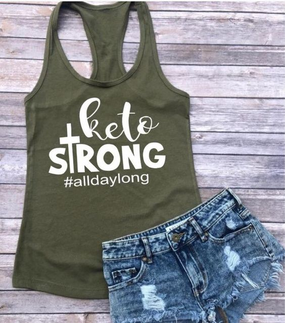 Keto Strong Tank Top DL17J0