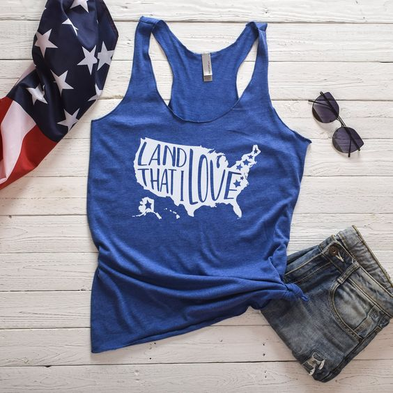 Land Love Fourth Tanktop ND27J0