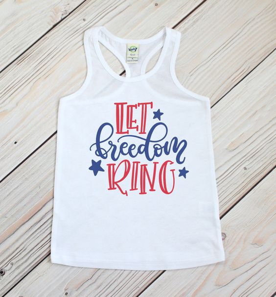 Let Freedom July Tanktop ND27J0