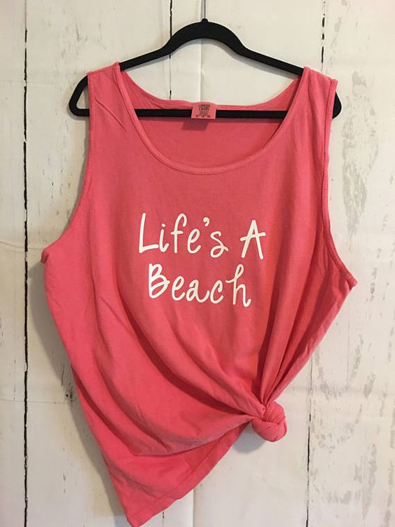 Life's A Beach Tanktop ND27J0
