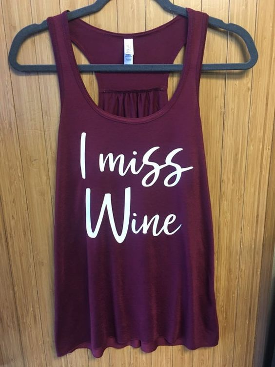 Miss Wine Tanktop ND27J0