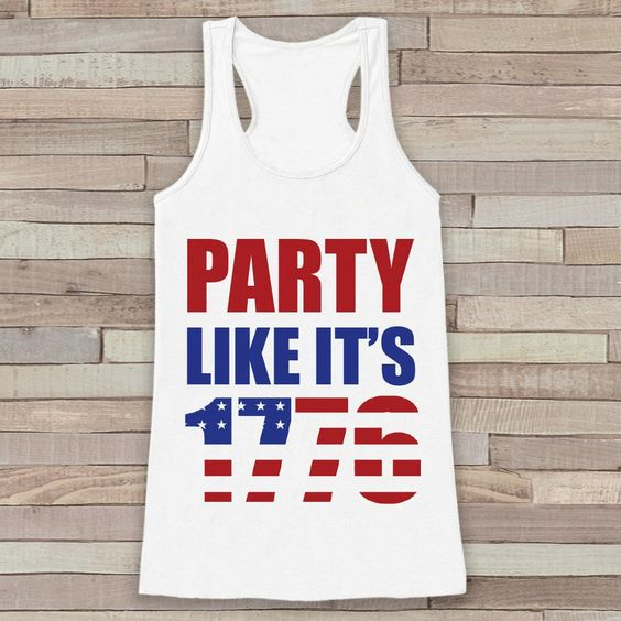 Party Like It's 1776 Tanktop FD27J0