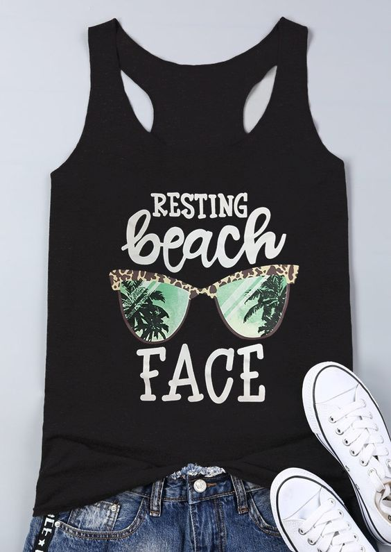 Resting Beach Tank Top DL17J0