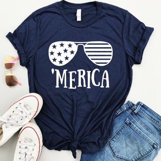 Women's 4th of July T-Shirt ND27J0