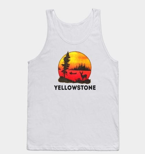 Yellowstone 70s Tank top DL17J0