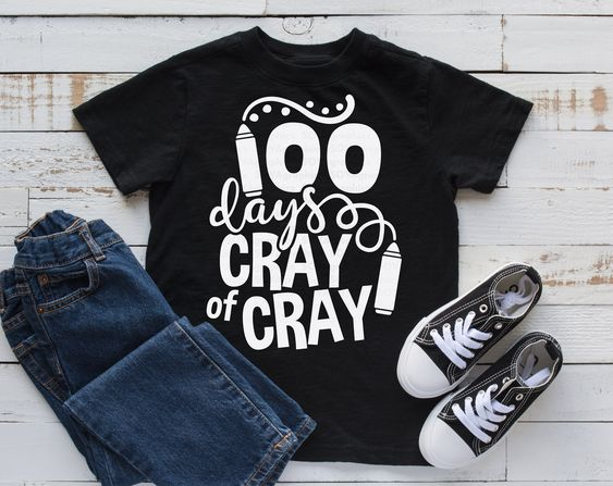 100 Days Cray T-Shirt ND3F0