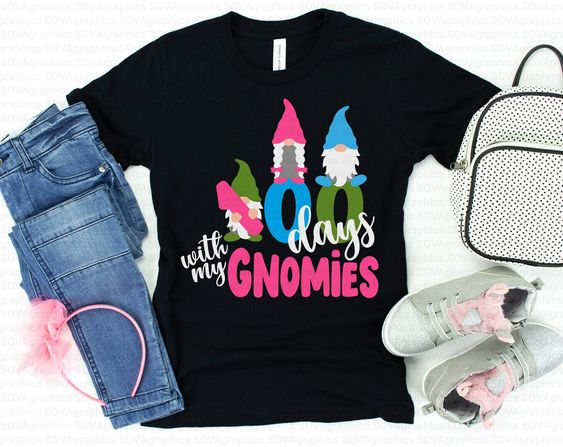 100 Days Gnomies T-Shirt ND3F0