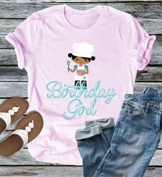 Birthday Girl Tshirt EL1F0