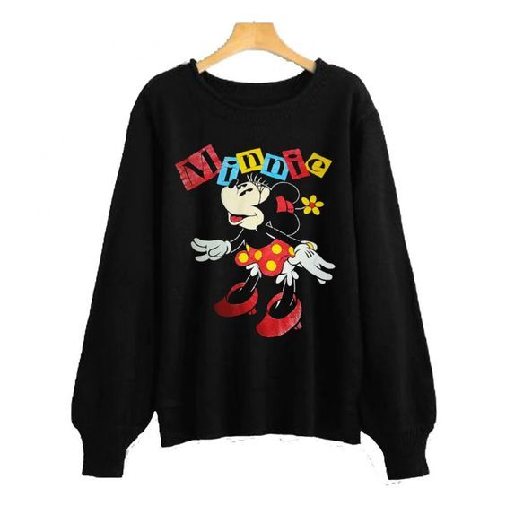 Cute Minnie Mouse Sweatshirt FD8F0