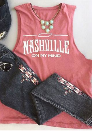 Nashville On My Mind Tanktop FD10F0
