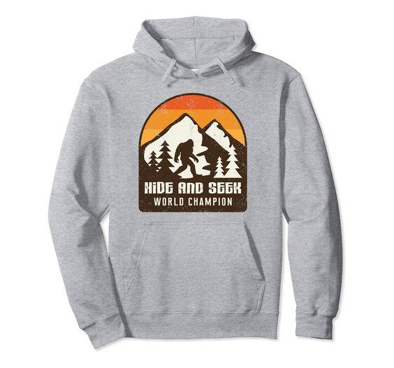 Vintage Retro Hide And Seek Hoodie FD8F0