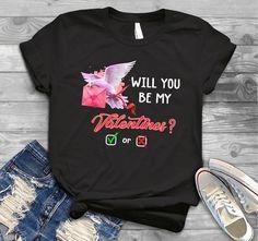Will You Be My Valentine Tshirt EL10F0