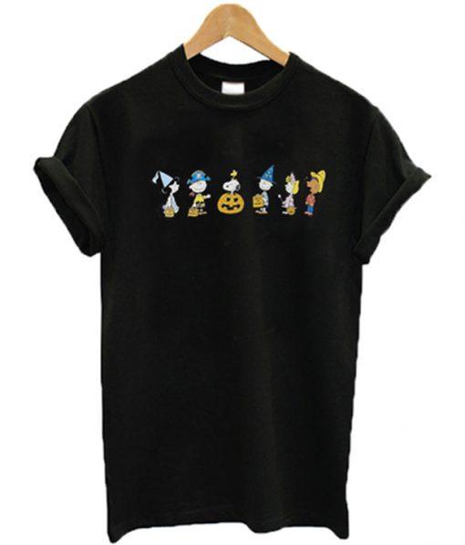 peanuts halloween t-shirt FD8F0