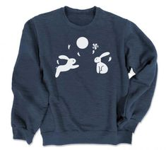 Asian Moon Sweatshirt TU20M0
