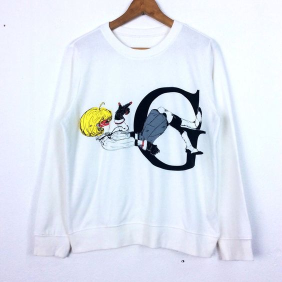 Cartoon Sweatshirt TU20M0