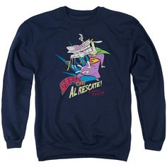 Cow And Chicken Sweatshirt Tu20M0