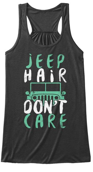 Jeep Hair Dont Care Tanktop RF7M0