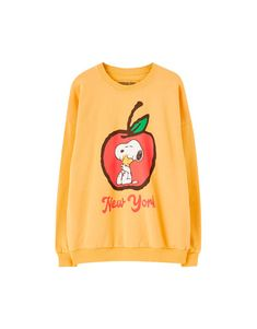 Snoopy Apple Sweatshirt TU20M0