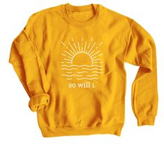 So Will Sweatshirt TU20M0