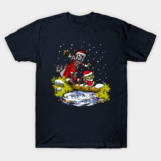 Walking under the snow T-Shirt AF28M0