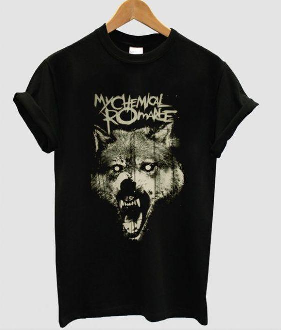 Wolf MCR T Shirt RL3M0