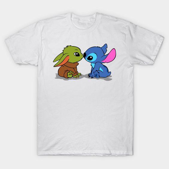 Yoda Baby-Stitch T-Shirt AF28M0