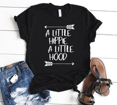A Little Hippie A Little Hood Tshirt LI4A0
