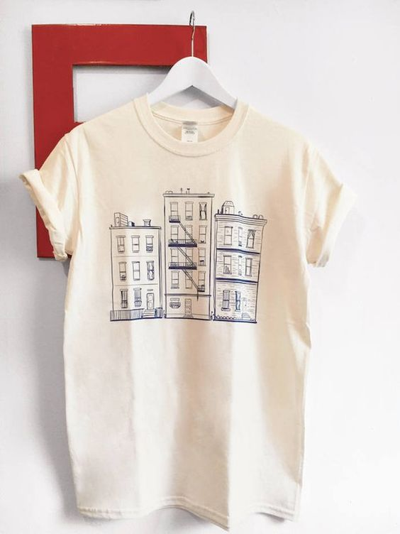 Apartment Art T-shirt AF13A0