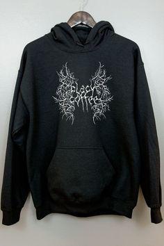 Black Metal Hoodie TY17A0