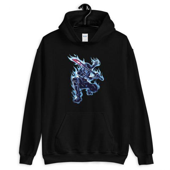 Blue Ninja Hoodie TY17A0