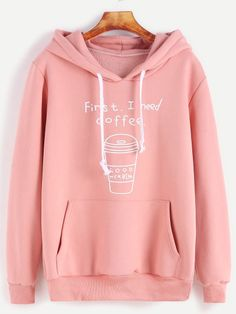 First I Need Coffee Hoodie TY17A0