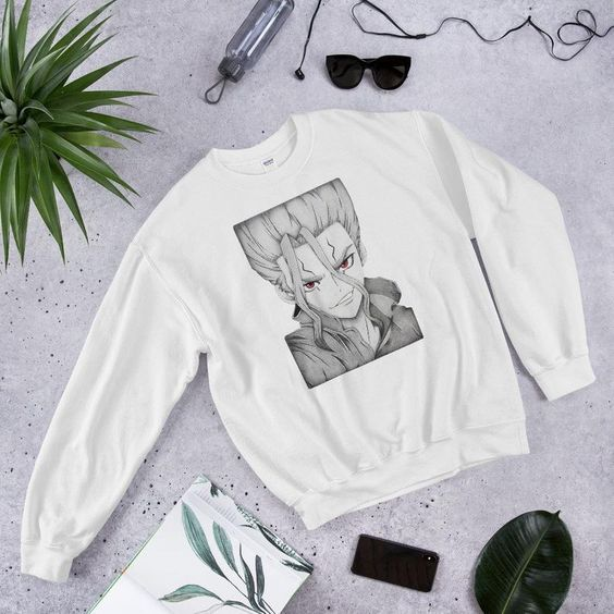 Senku Dr. Stone Sweatshirt AS9A0