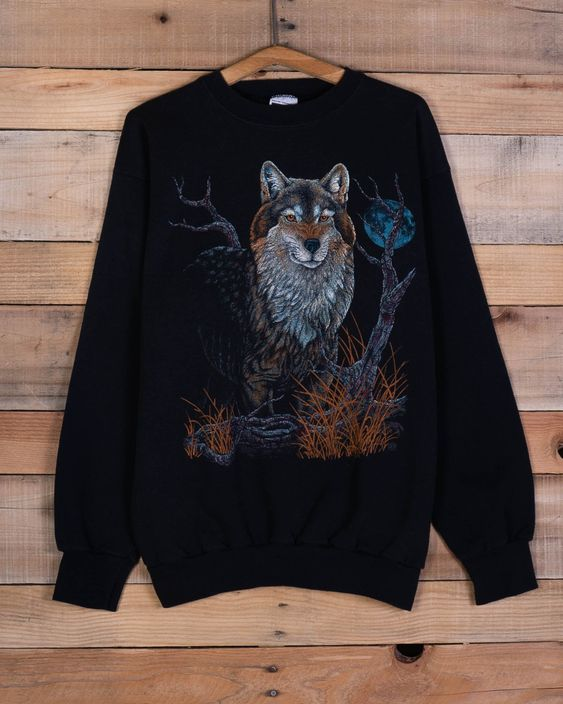 Wolf Snarle Sweatshirt AS9A0