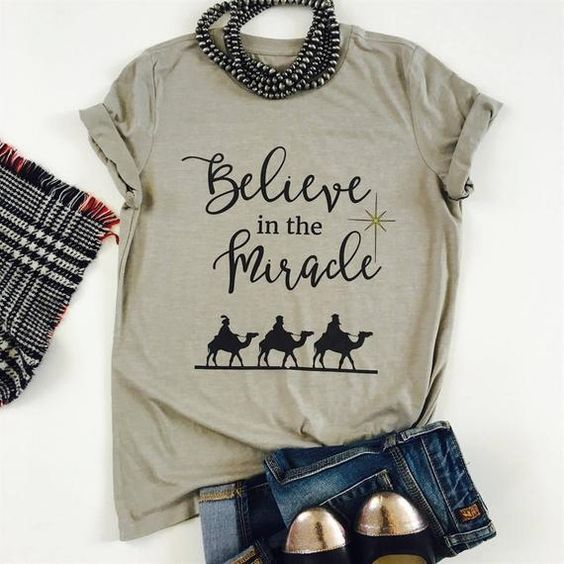 Believe In The Miracle T-shirt AS30JN0